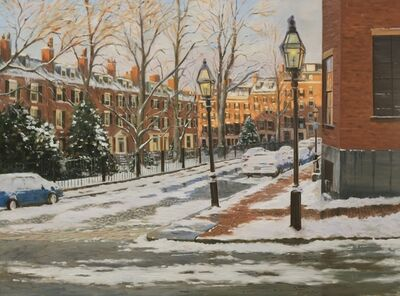 Sergio Roffo, 'Louisburg Square, Boston', 2018