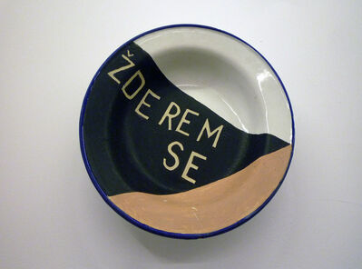 Mladen Stilinovic, 'Zderem se / I eat myself', 1997