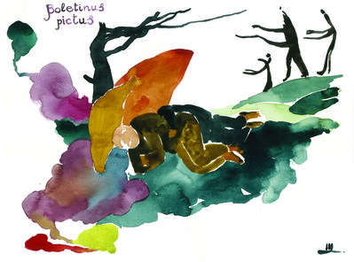 Nikita Shalenny, 'Sleeping in the Woods', 2015