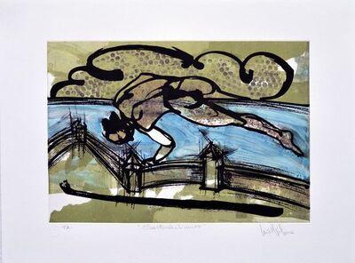 """Luis Miguel Valdes, '""""Saltando el muro""""', 2012"""