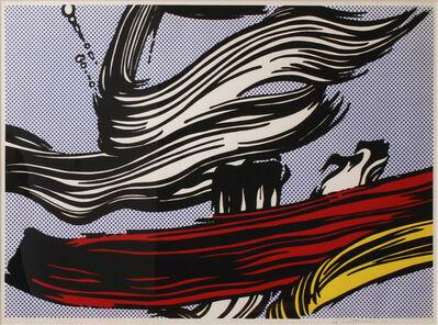 Roy Lichtenstein, 'Brushstrokes (Cortlett 45)', 1967