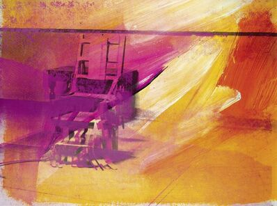 Andy Warhol, 'Electric Chair F & S II.81', 1971