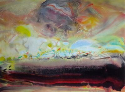 Chu Teh-Chun, 'Composition XVI', 2007