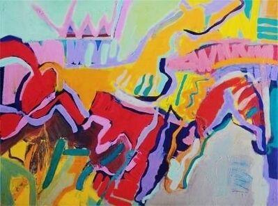 Harriette Joffe, 'Red Horse Dawn', 1982