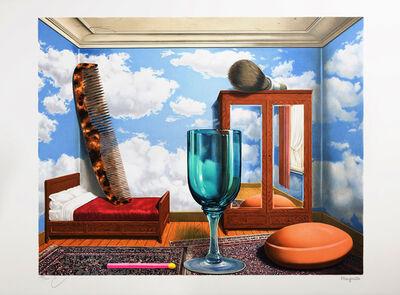René Magritte, 'Les Valeurs Personnelles (Personal Values)', 2004
