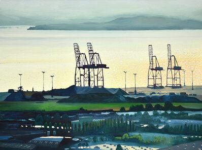 David Leonard, 'Bay Cranes'