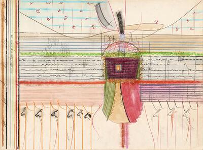 Roy De Forest, 'Miniature Drawing', 1973