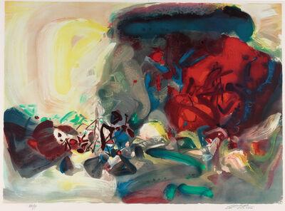 Chu Teh-Chun, 'Joyful Encounter 喜相逢', 2004