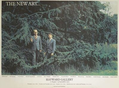 Gilbert and George, 'The New Art Exhibition Poster', 1972