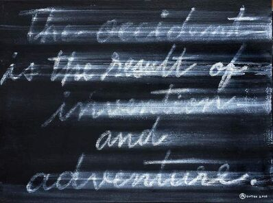 """Sutee Kunavichayanont, '""""The Occident is the Result of Invention and Adventure""""', 2016"""