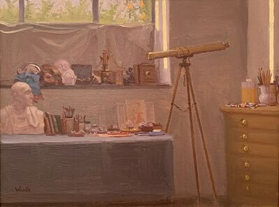 Robbie Wraith, 'Studio interior with Sunlight', 2019