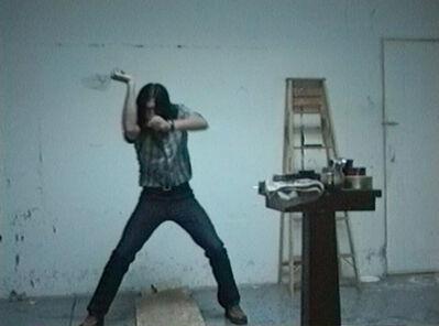 Sean Landers, 'Dancing with Death', 1995