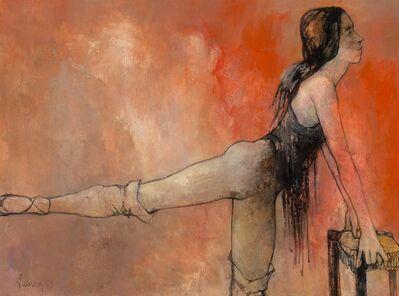 Jean Jansem, 'Exercice au tabouret', 1969