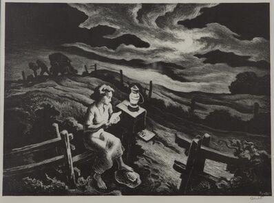 Thomas Hart Benton, 'Letter From Overseas', 1943