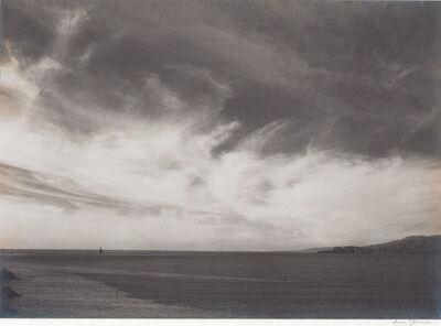 Ansel Adams, 'Ocean and Clouds, from Golden Gate Headlands near Baker's Beach', 1931