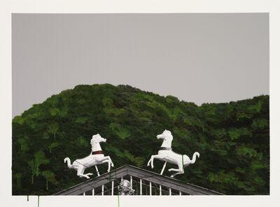 Honggoo Kang, 'Study of Green-Horses', 2012