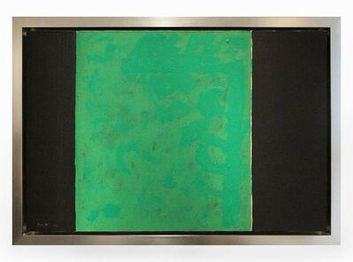 Robert Motherwell, 'Open No. 57: Green and Black', 1969