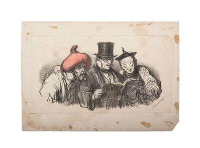 Honoré Daumier, 'Charges du Jour', 1860