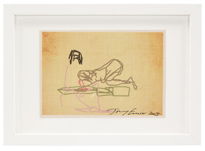 Tracey Emin, 'Ipad Drawing from 'Sex' series', 2013