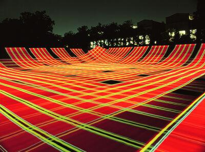 Vicki da Silva, 'Light Tartans: Fountain Park 6', 2008