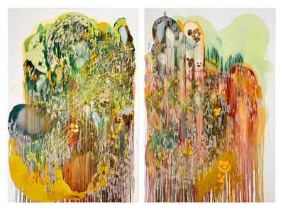 Vlad Kulkov, 'Supercolorfragilistic, the antidot for civilisation (diptych)', 2016
