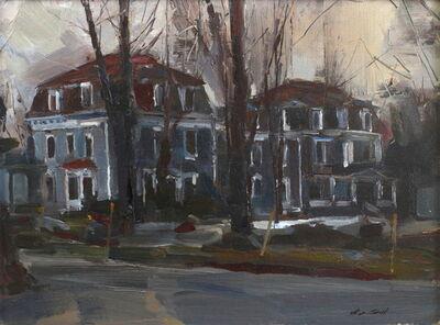 Stephen Scott, 'Victorian Houses, Late Fall', 2018
