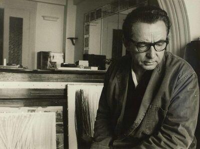 Edward Quinn, 'Hartung à Saint-Paul-de-Vence', 1961