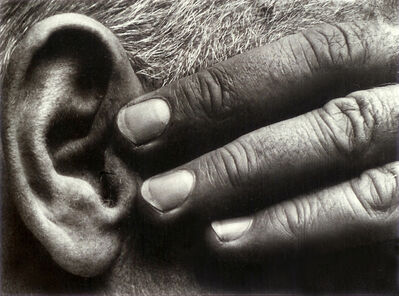 Brett Weston, 'Hand and Ear (Ramiel McGehee)', 1930