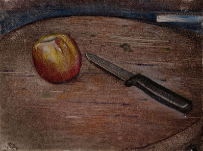 Francis Wishart, 'Apple with Knife', 2017