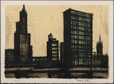 Bernard Buffet, 'New York IX, from Album New York', 1964-65