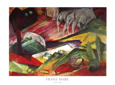 Franz Marc, 'The Forest'