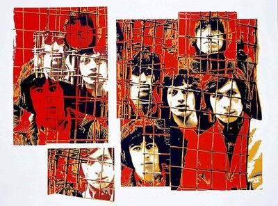 Gered Mankowitz, 'The Rolling Stones 'Red Cage'', 1999