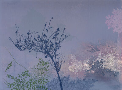 Chitra Merchant, 'Wild Bamboo & Rose', 2021