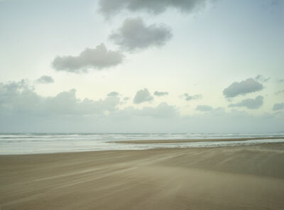 Donald Weber, 'Omaha Beach - October 21, 2014, 6:50pm. 11ºC, 66% RELH, Wind WNW, 18 Knots. VIS: Good, Clear', 2014