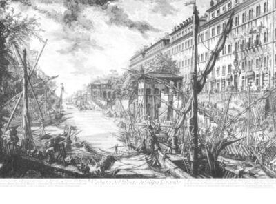 Giovanni Battista Piranesi, 'Veduta del Porto Di Ripa Grande ', 1753