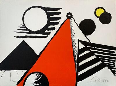 Alexander Calder, 'Pyramide Rouge', 1969