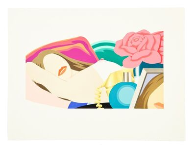 Tom Wesselmann, 'Nude with Rose', 1976
