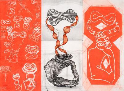 John Newman (b.1952), 'Drawing for a Sculpture', 2010