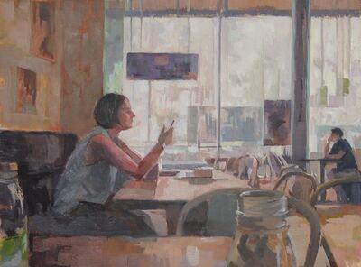 Ceri Allen, 'Summer interior'