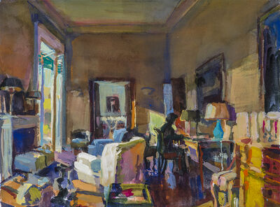 Grant Drumheller, 'Interior in Rome', 2020