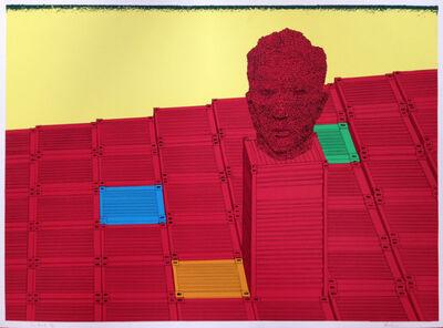 David Mach, 'Big Heids II', 1993