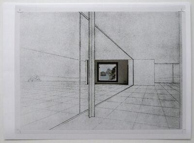 Peter Welz, 'study [mies van der rohe | casa malaparte] II', 2014