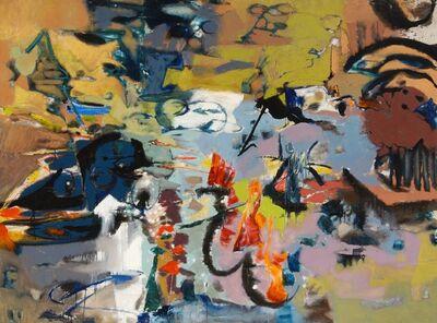 Friedel Dzubas (1915-1994), 'Untitled', ca. 1958