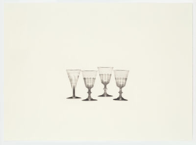 Cornelia Parker, 'Fox Talbot's Articles of Glass (four glasses)', 2016