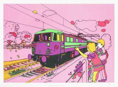 Ben Eine, 'Pink Train', 2006