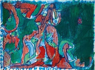 Pierre Alechinsky, 'Le Manteau', 1974