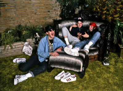 Harry Benson, 'The Beastie Boys, Graceland', 1987
