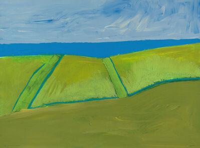 Lee Hall, 'CRETE: SEA HORIZON FROM OLIVE GROVE', 2015