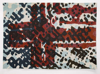 Tom Phillips, 'Flag (Conjectured from postcard)', 1974
