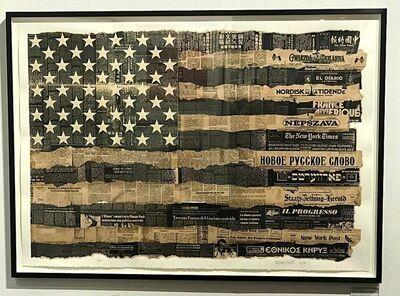 Massimo Vignelli, 'America the Melting Pot', 1976-1989